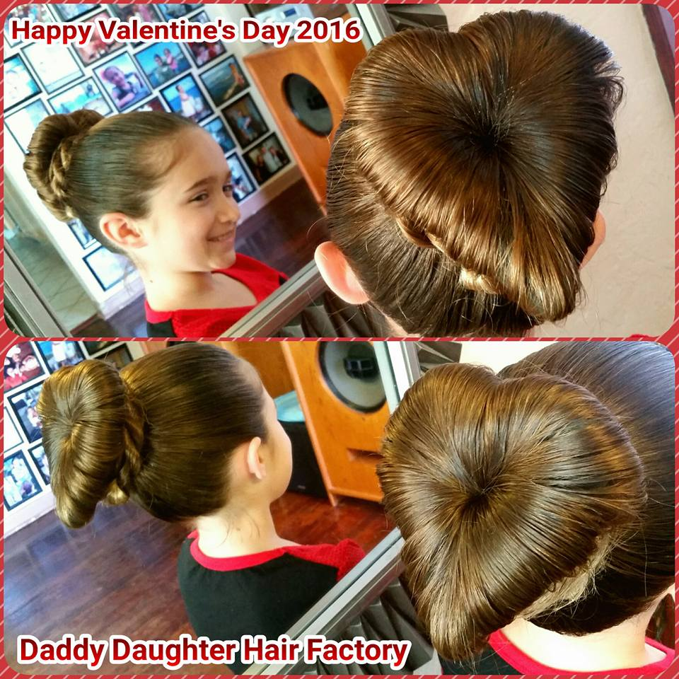 (Photo by Daddy Daughter Hair Factory)