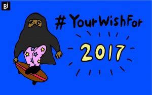 9杯目:女性が気軽にスケボーできない国。#YourWishFor2017|「丼」じゃなくて「#」で読み解く、現代社会