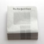 """「もうニュースなんてない」。情報が飽和した時代を生きるあなたへ送る、""""白紙のニュースペーパー"""""""